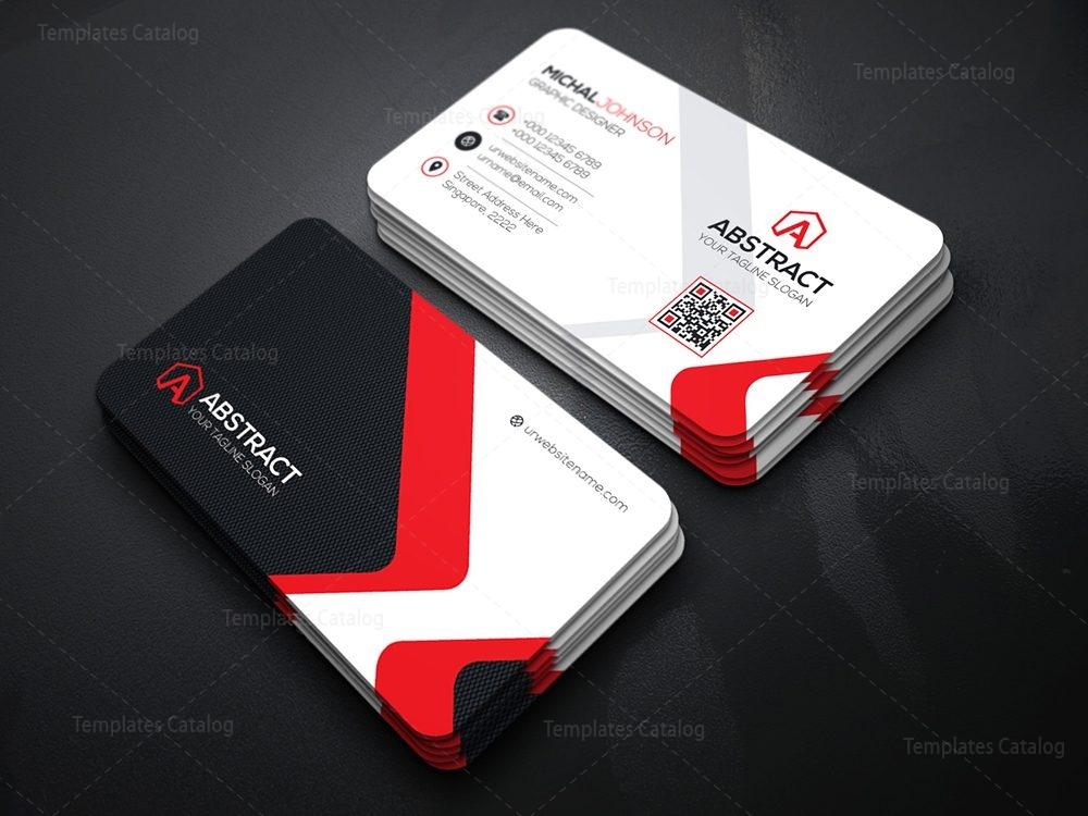 Corporate business card design template catalog for New business cards