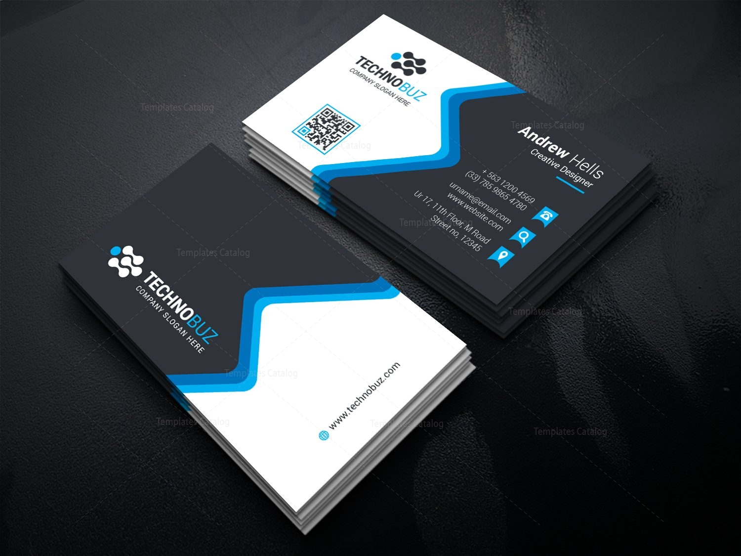 business card sample - solarfm.tk