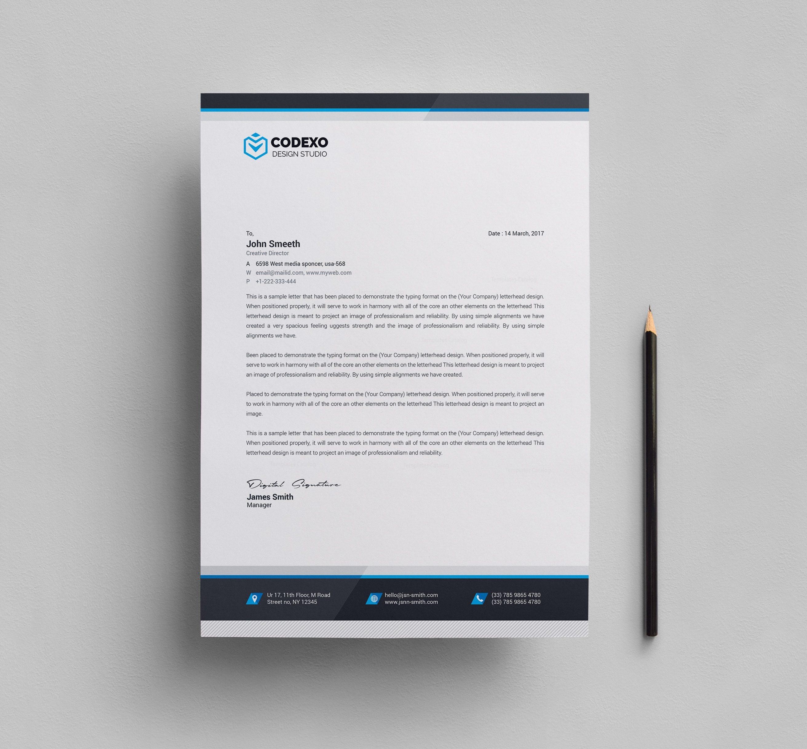 Professional Letterhead Design Ideas 15 Professional Business ...