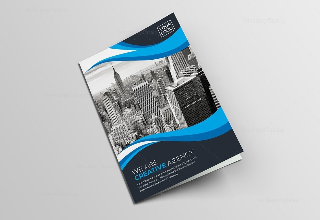 BiFold Creative Brochure Template Template Catalog - Creative brochure templates