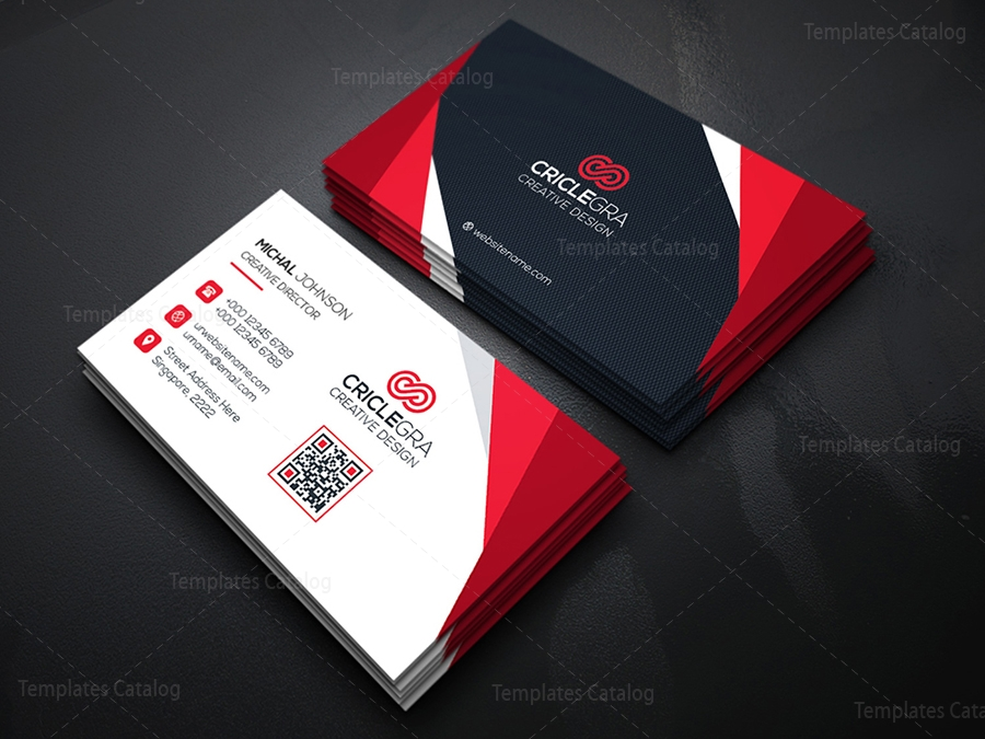 Corporate Business Card Design - Template Catalog