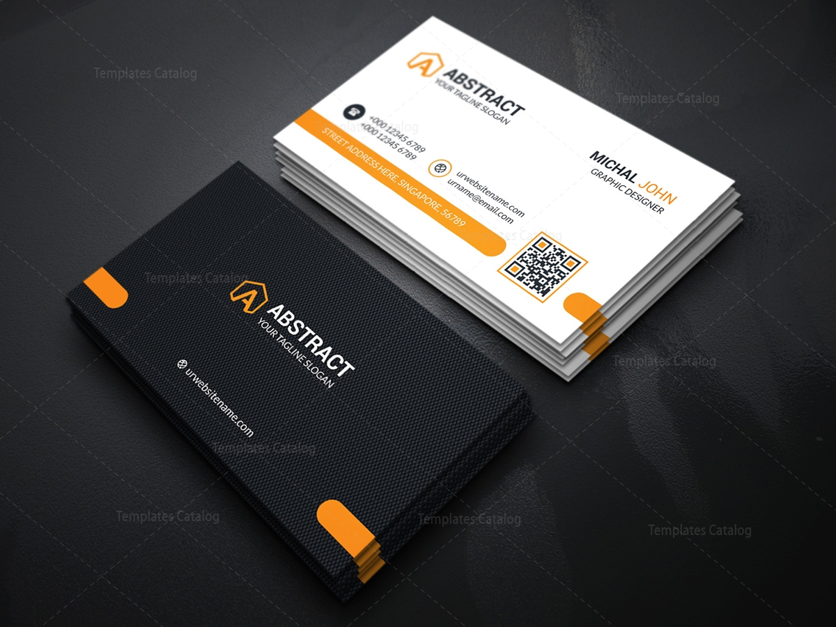Stylish Business Card Template - Template Catalog