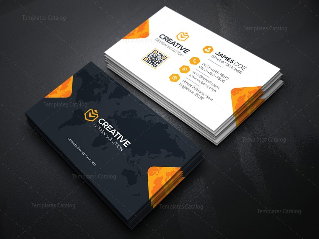 Creative Company Business Card Template 000036
