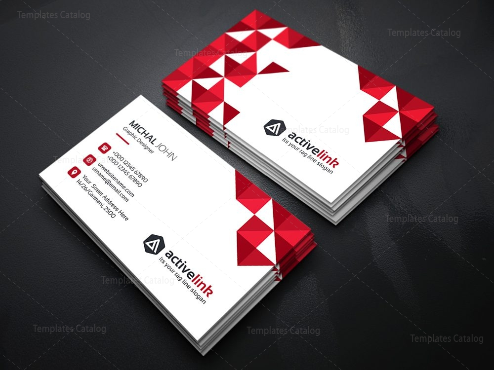 Activelink business card template template catalog 04 business card template colourmoves