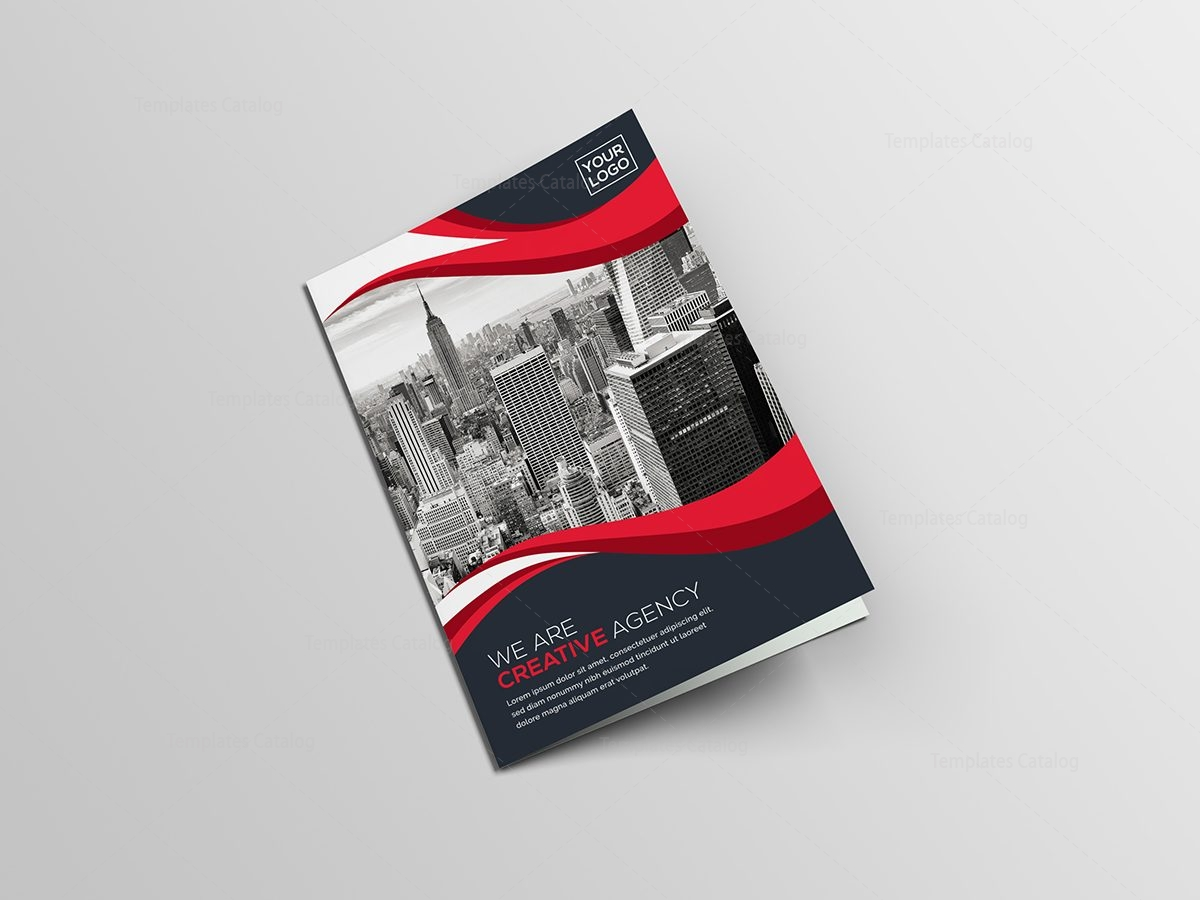 BiFold Creative Brochure Template Template Catalog - Cool brochure templates