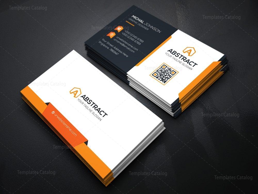 technology business card template 000074 template catalog