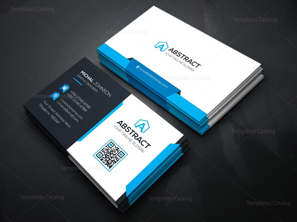 Technology business card template 000074 template catalog 04technology business card cheaphphosting Image collections