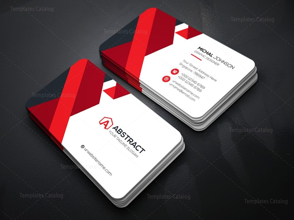 Elegant business card template 000080 template catalog 01 elegant business card template fbccfo Image collections