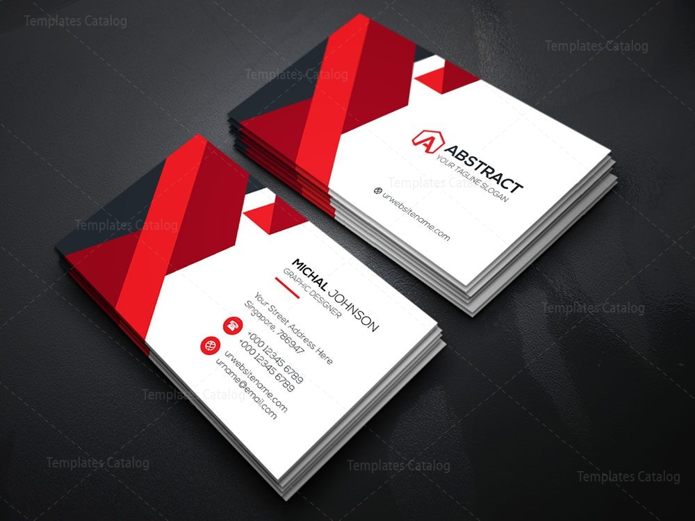 Elegant business card template 000080 template catalog home print business cards fbccfo Choice Image
