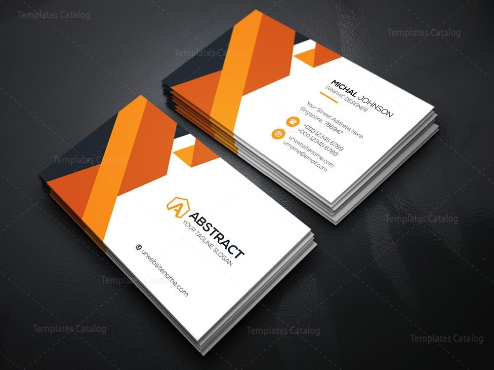 elegant business card template 000080 template catalog