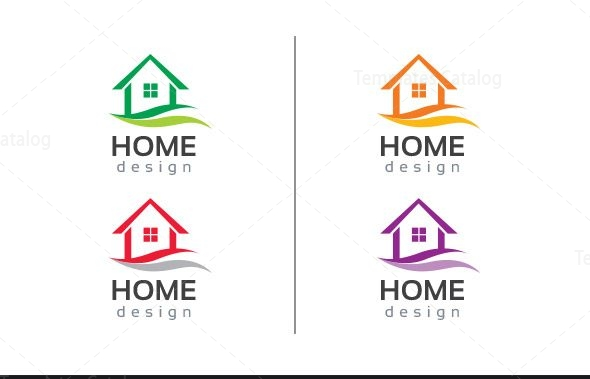 Home Design Logo Template 2