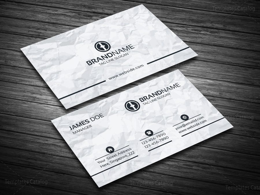 EPS Visiting Card Template 000089 - Template Catalog