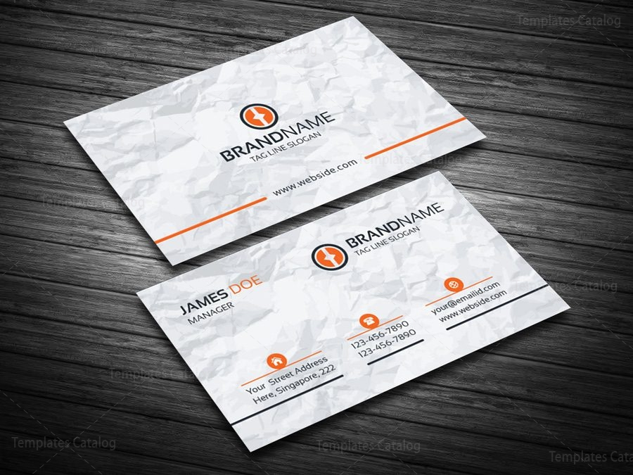 Eps visiting card template 000089 template catalog eps visiting card template 4 reheart Images