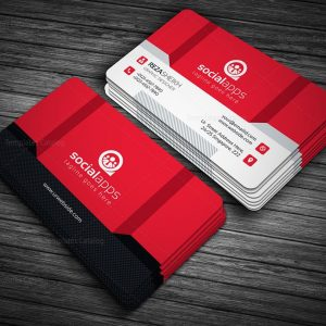 3d effect business card template 000143 template catalog flashek Images