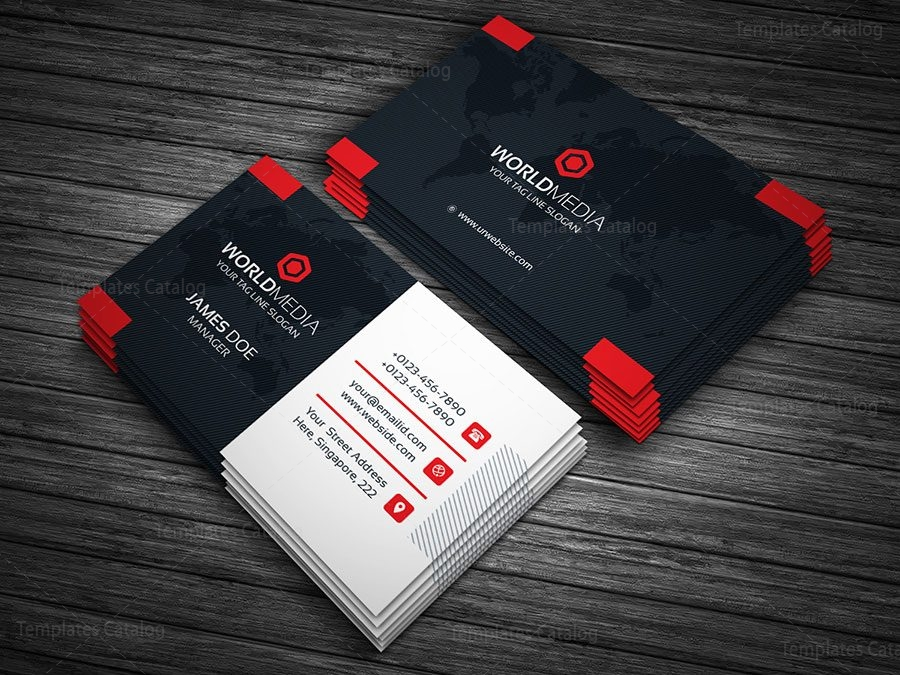 Business card template with world map 000146 template catalog business card template with world map 2 colourmoves