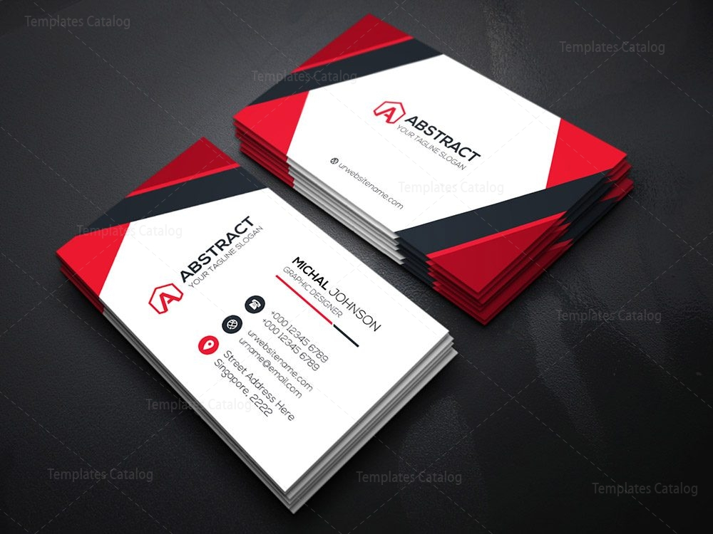 classy business card template 000122 template catalog