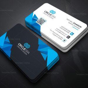 Corporation Business Card Template
