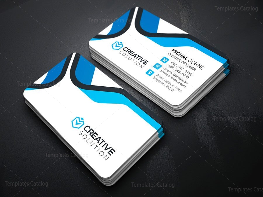 Creative Business Card Design 000154 - Template Catalog