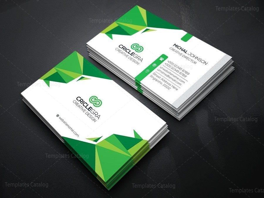 Elegant Business Card 000168 - Template Catalog
