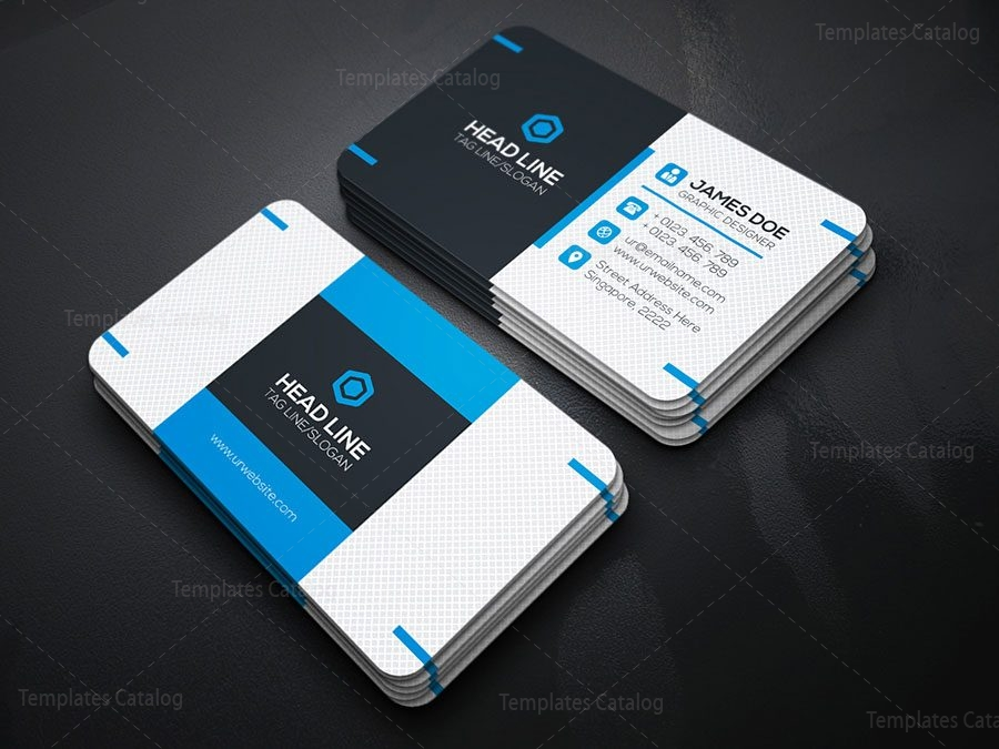 Fancy Business Card Template Template Catalog