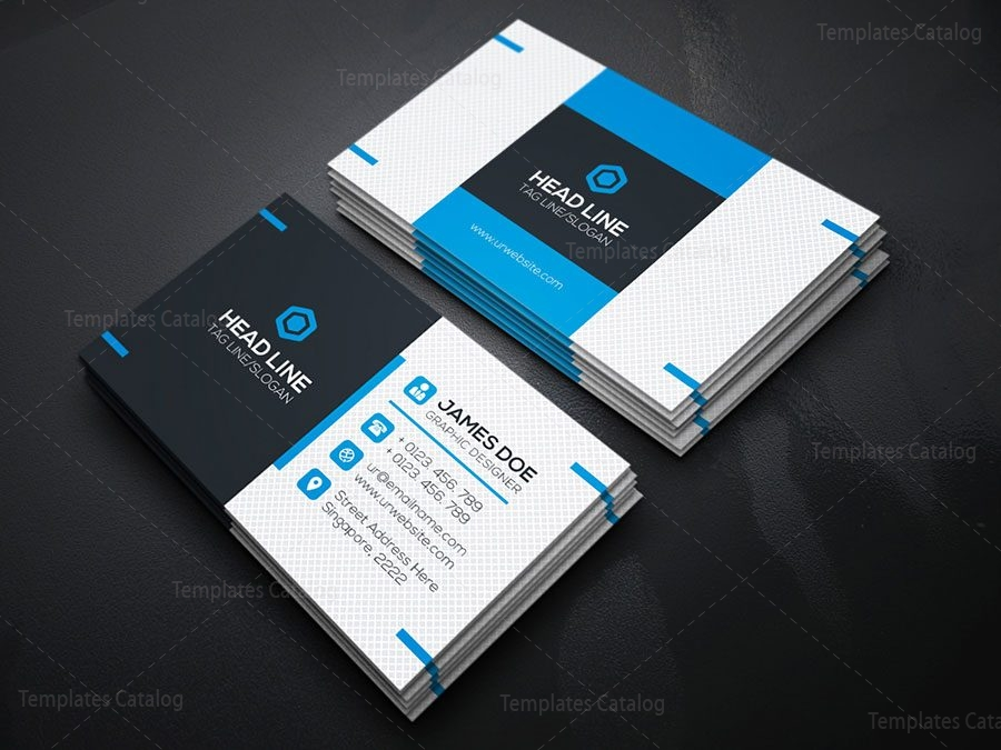 Fancy Business Card Template 2 Template Catalog