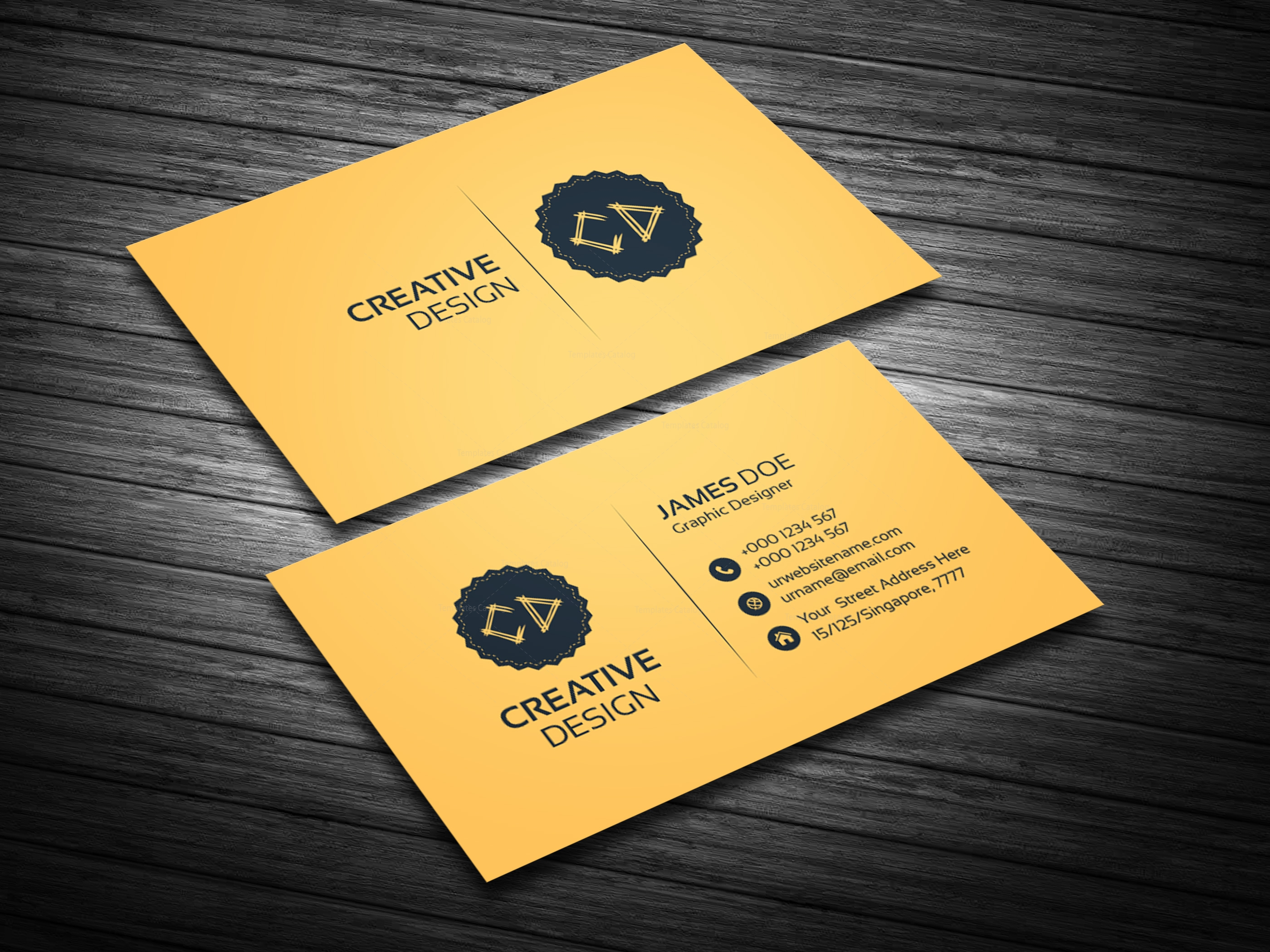 golden business card template bundle 000114 template catalog