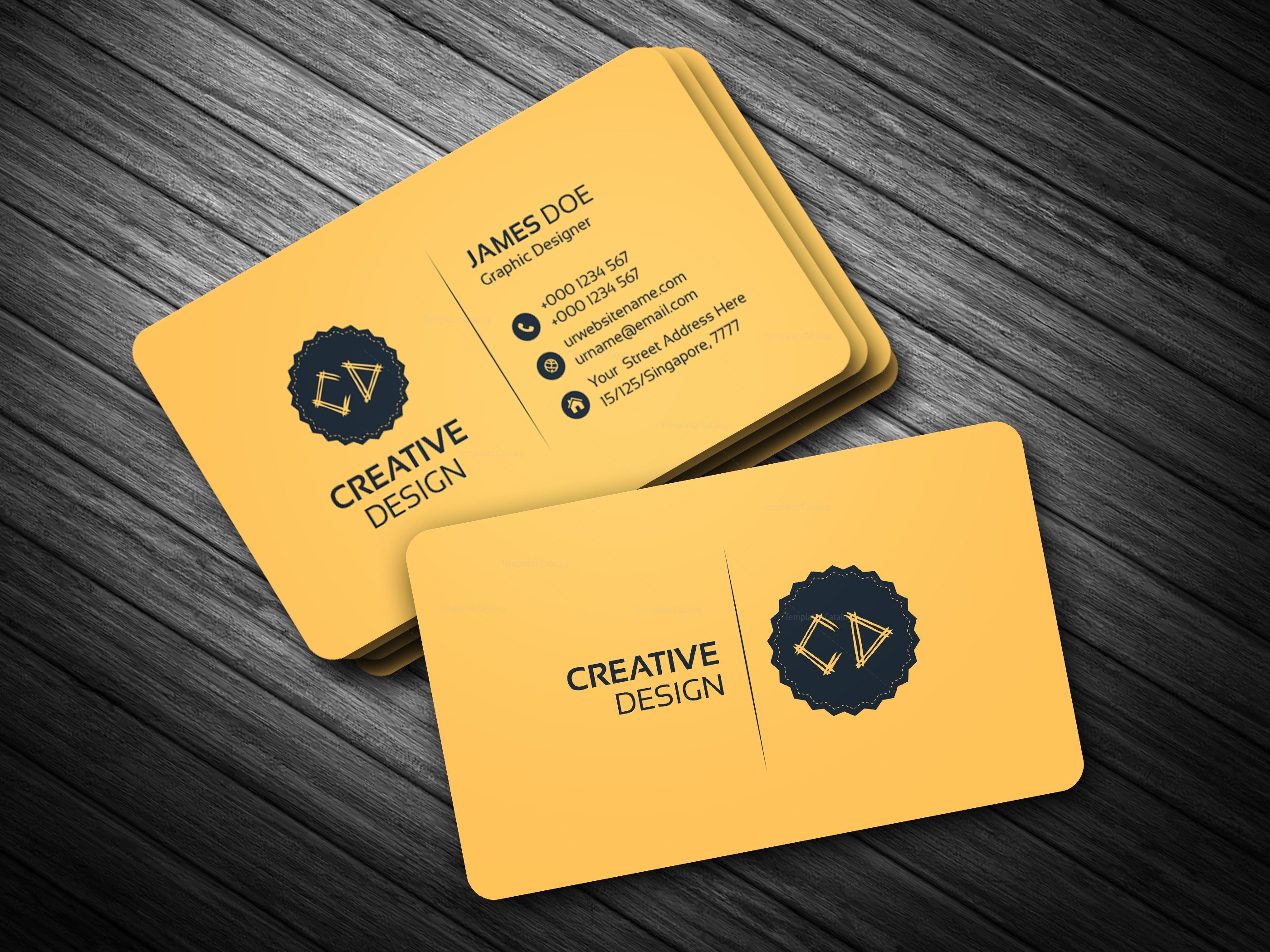 Golden business card template bundle 000114 template catalog golden business card template reheart Image collections