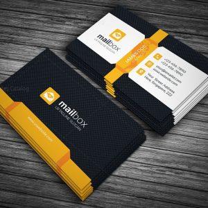 mailbox business card template 000141 template catalog