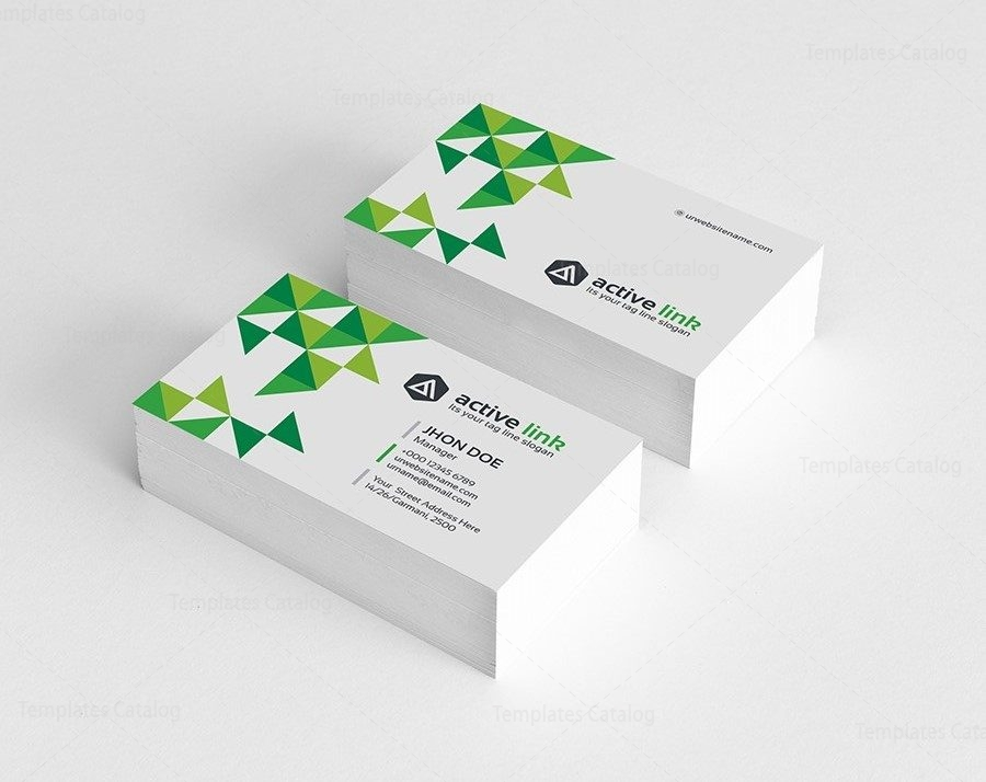 Medical Business Card Template 000161 - Template Catalog