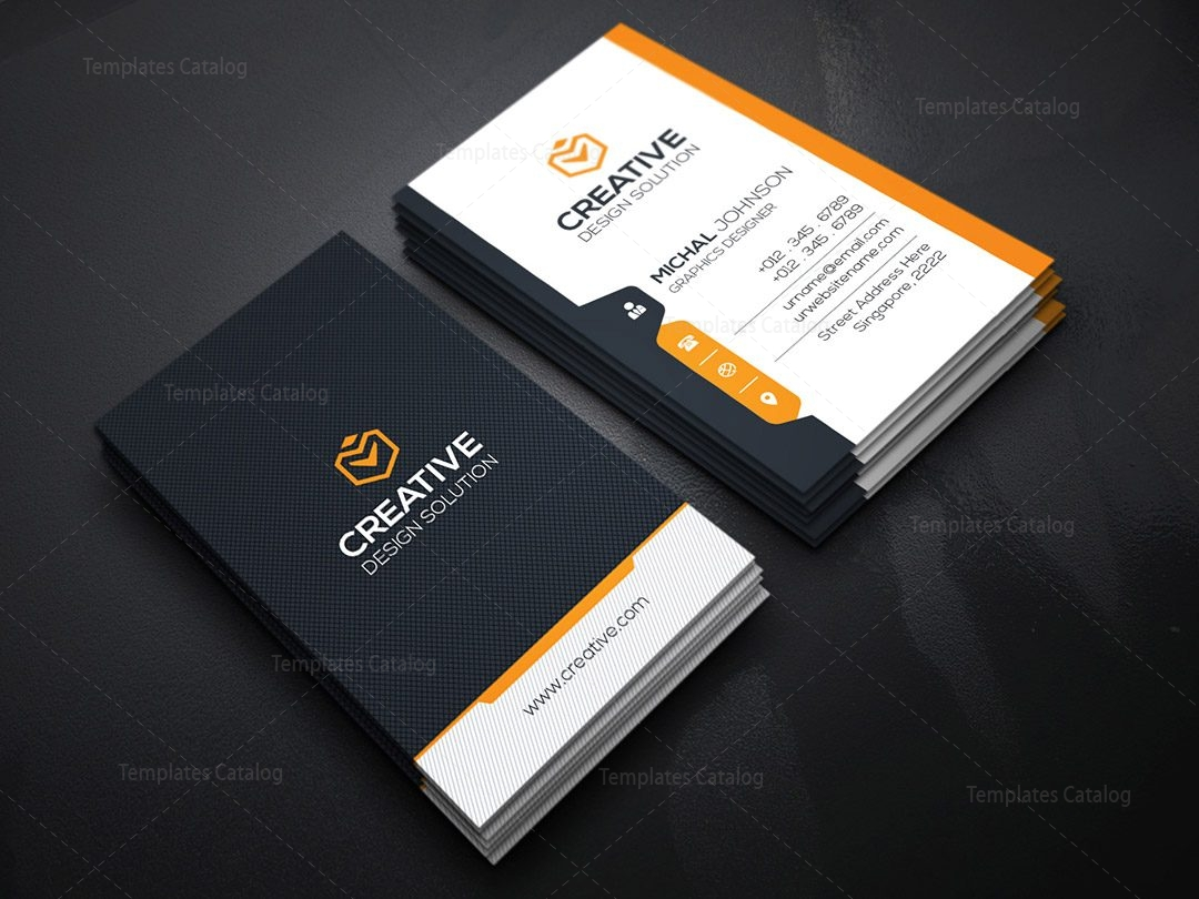 modern vertical business card template 000131 template catalog. Black Bedroom Furniture Sets. Home Design Ideas