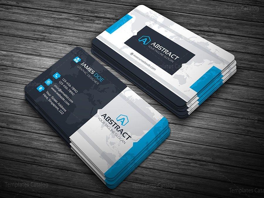 Multicolor business card template 000099 template catalog multicolor business card template 1 cheaphphosting Gallery