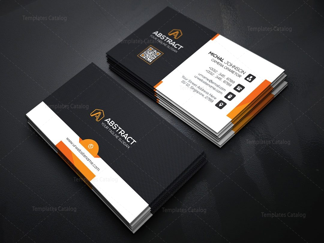 Psd business card template 000172 template catalog for Free business card templates psd
