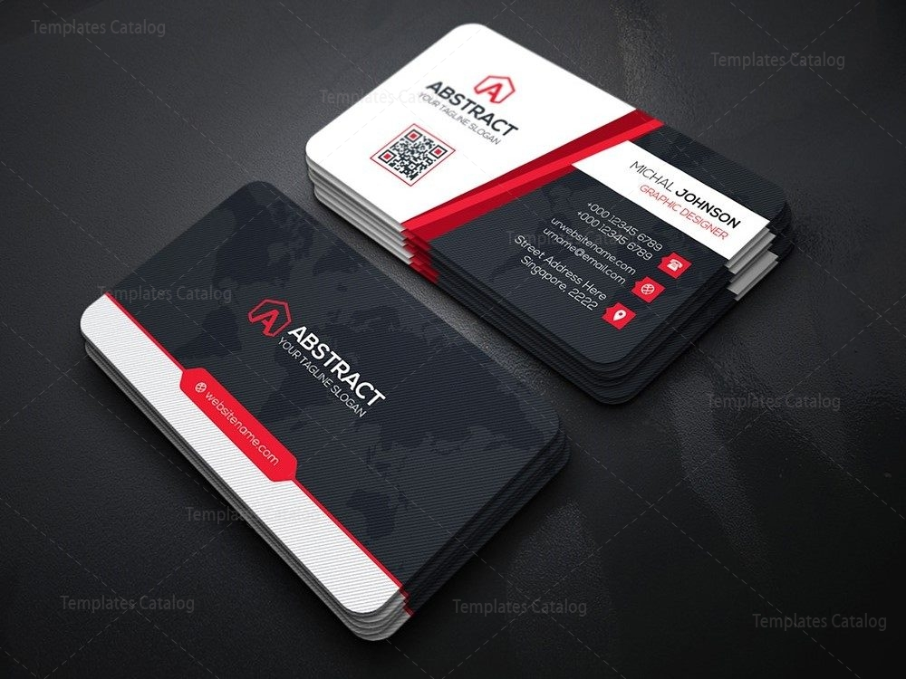 PSD Technology Business Card 000167 - Template Catalog