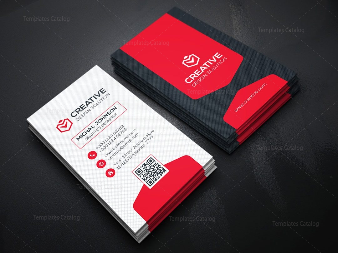 Vertical business card design template 000156 template catalog vertical business card design template accmission