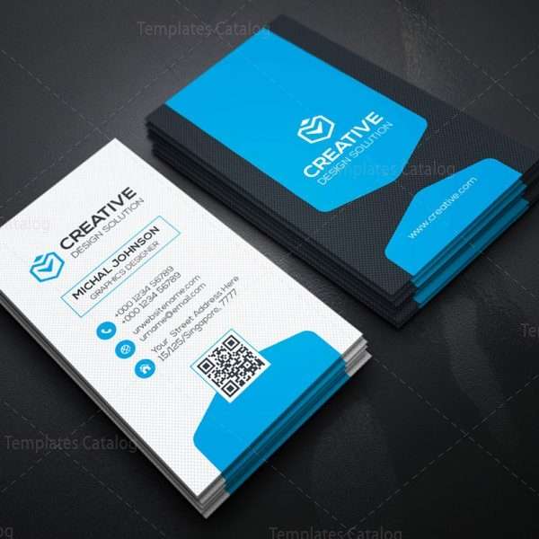 vertical business card design template 000156 template catalog. Black Bedroom Furniture Sets. Home Design Ideas