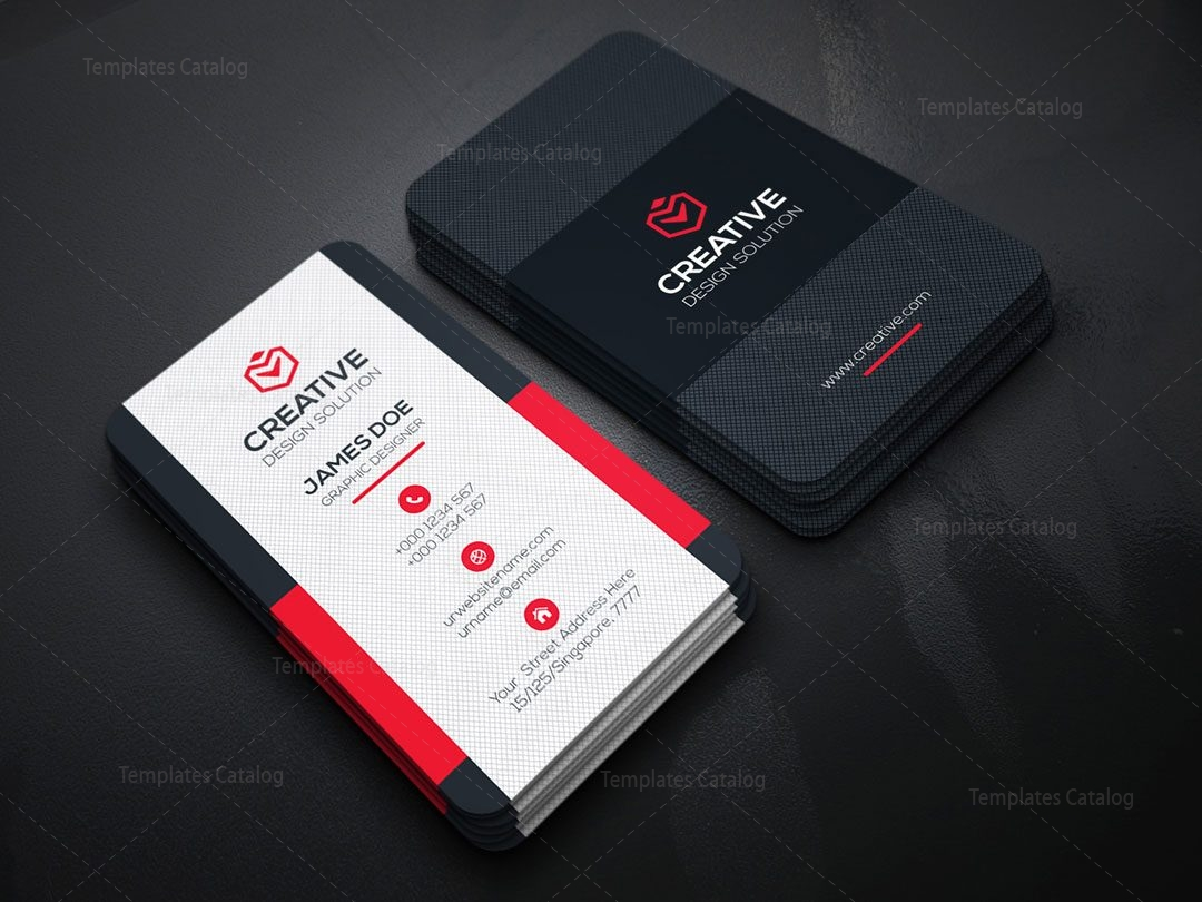 vertical business card template 000149 template catalog. Black Bedroom Furniture Sets. Home Design Ideas