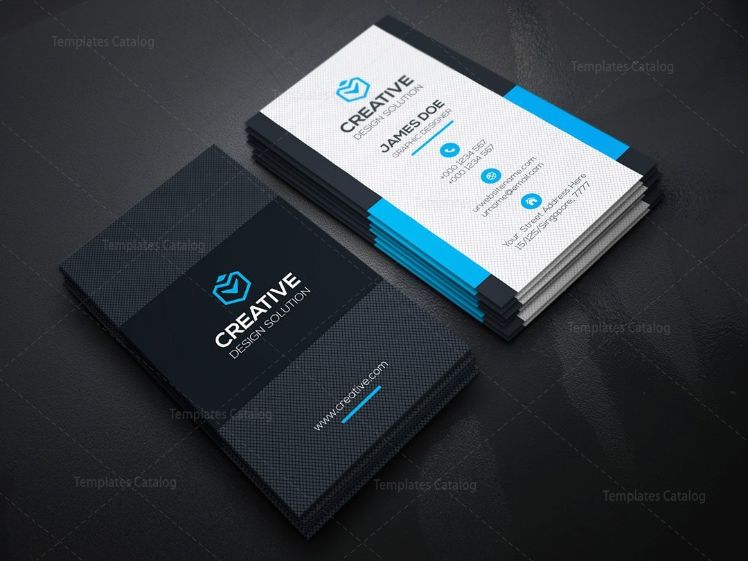 Vertical business card template 000149 template catalog vertical business card template 4 flashek Gallery