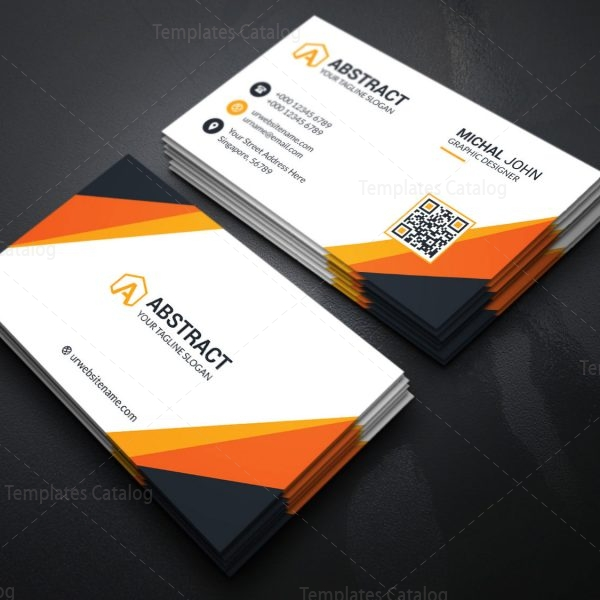 Visiting Card Template for Companies 3