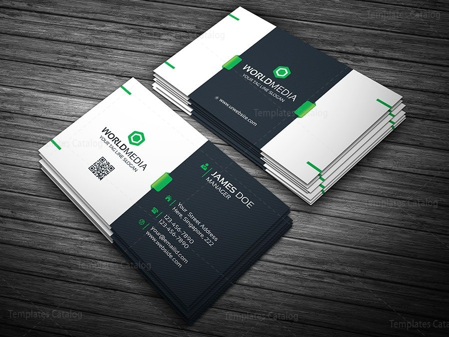Premium Visiting Card Template   Template Catalog