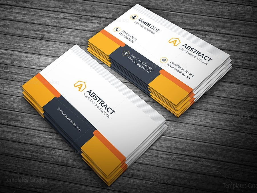 Professional business card template 000100 template catalog professional business card template 2 colourmoves