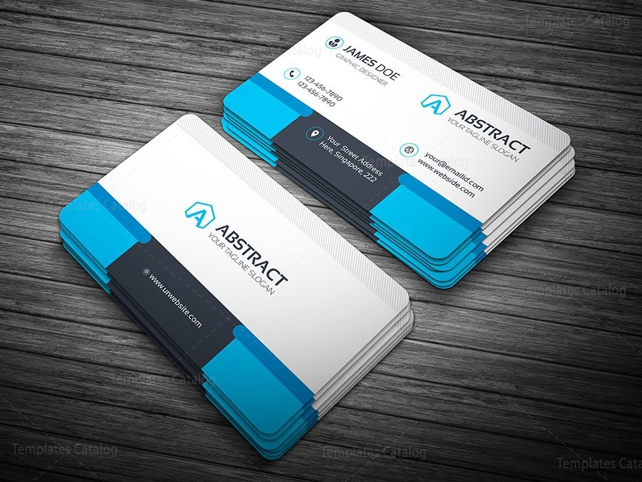 Premium Visiting Card Template Archives Template Catalog - Professional business cards templates