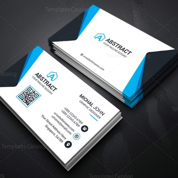 Corporate Business Cards Template Catalog