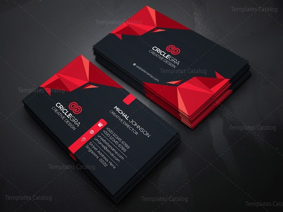 Dark corporation business card template 000183 template catalog dark corporation business card template 9 accmission Gallery