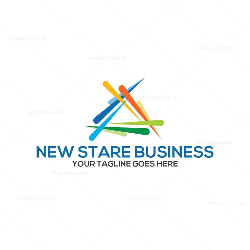 New business corporate logo design 000201 template catalog Business logo design company