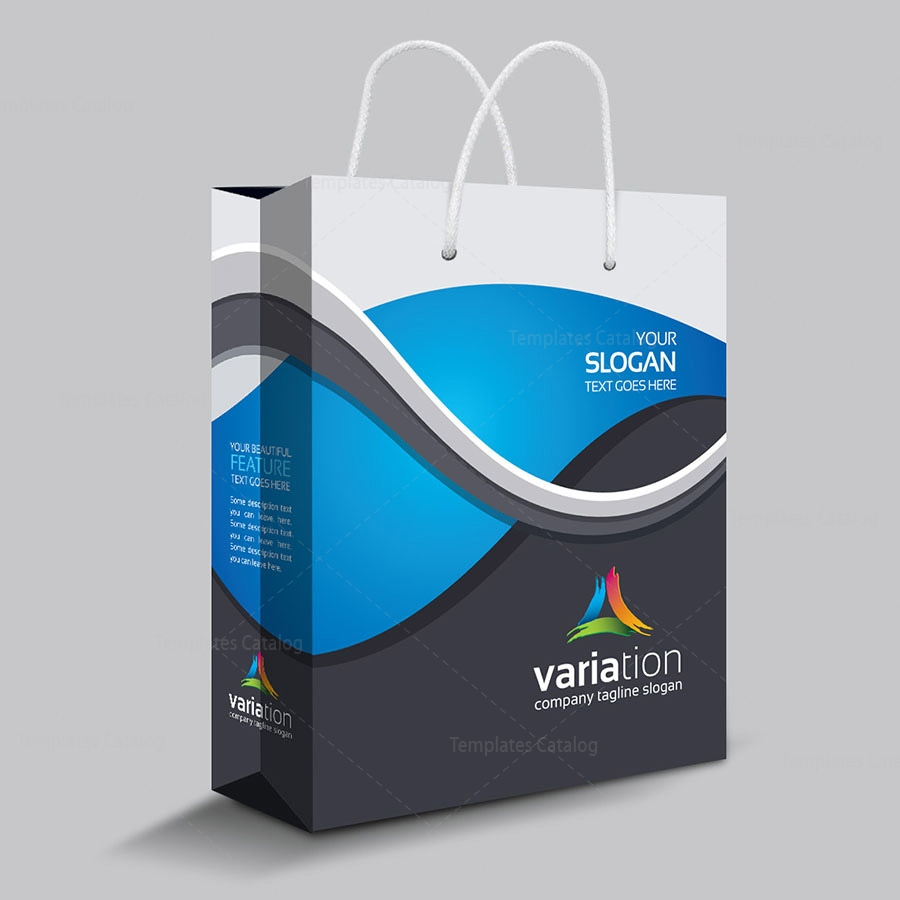 premium shopping bag template 000119 template catalog