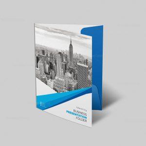 Professional Corporate Presentation Folder