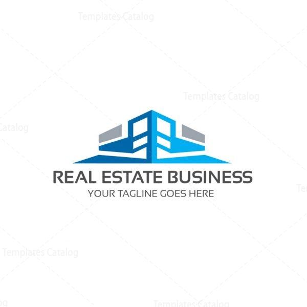 Real estate company logo template catalog