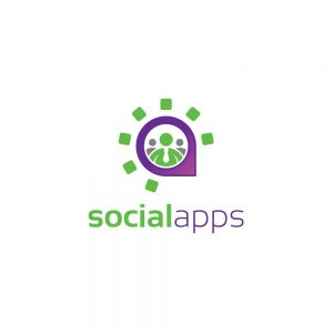 Social Application Logo Template