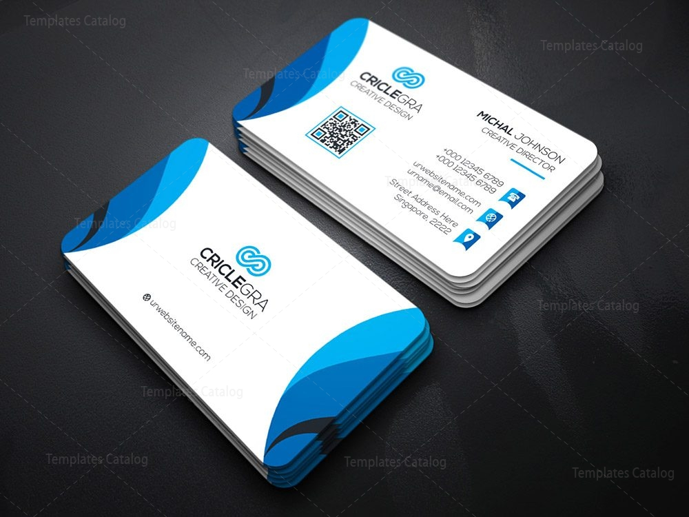Society business card template 000186 template catalog for Busniess card template
