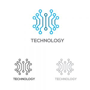 Technology Company Logo Template
